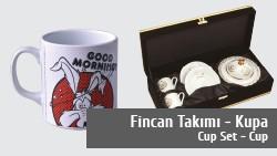 Promosyon Fincan Takımı - Kupa